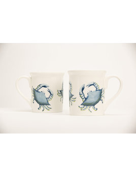 "4.25"" Mug - Blue Crab"