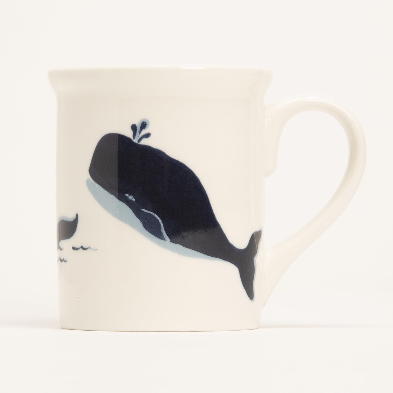 """4.25"""" Mug - Blue Whale"""
