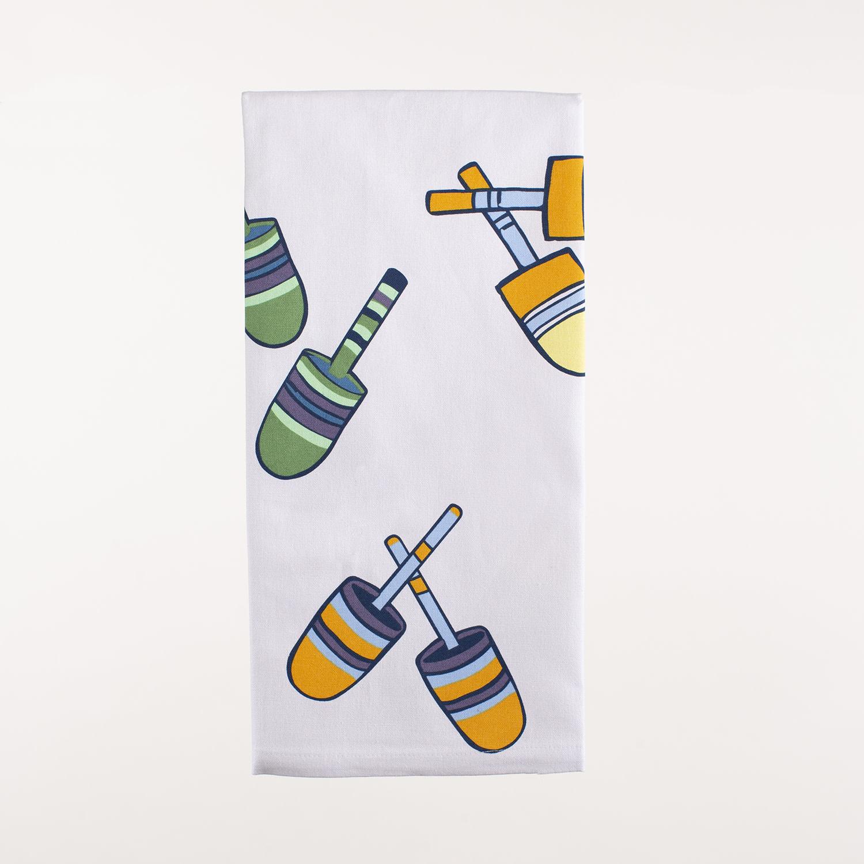 """28"""" x 20"""" Kitchen Towel - Buoys"""