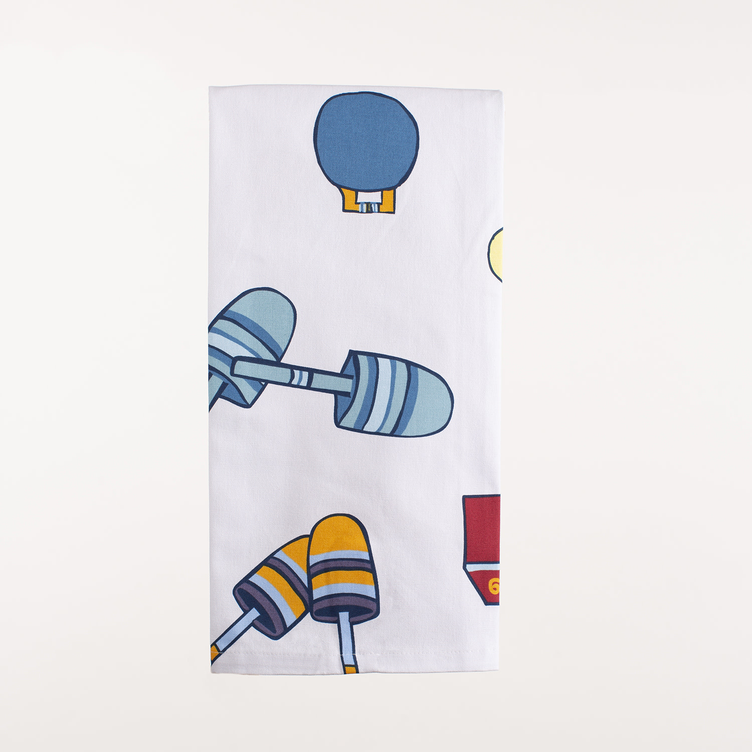 "28"" x 20"" Kitchen Towel - Buoys"