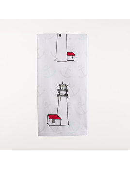 "28"" x 20"" Kitchen Towel - Lighthouses"