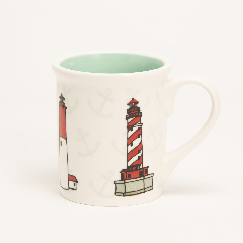 """4.25"""" Mug - Lighthouses"""