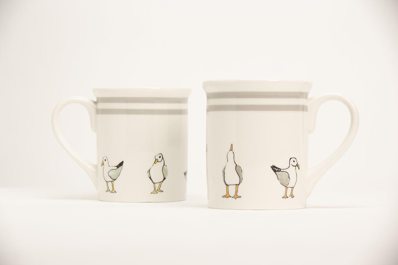 "4.25"" Mug - Seagulls"
