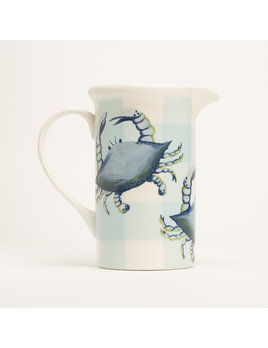 "8"" Pitcher - Blue Crab"