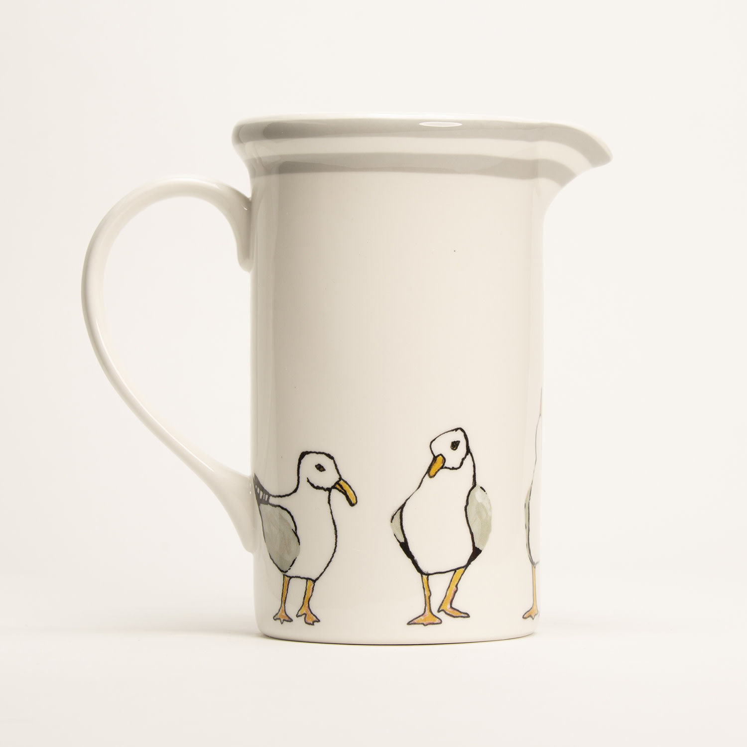 "8"" Pitcher - Seagulls"
