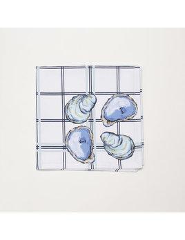 4 Piece Napkin Set - Oyster
