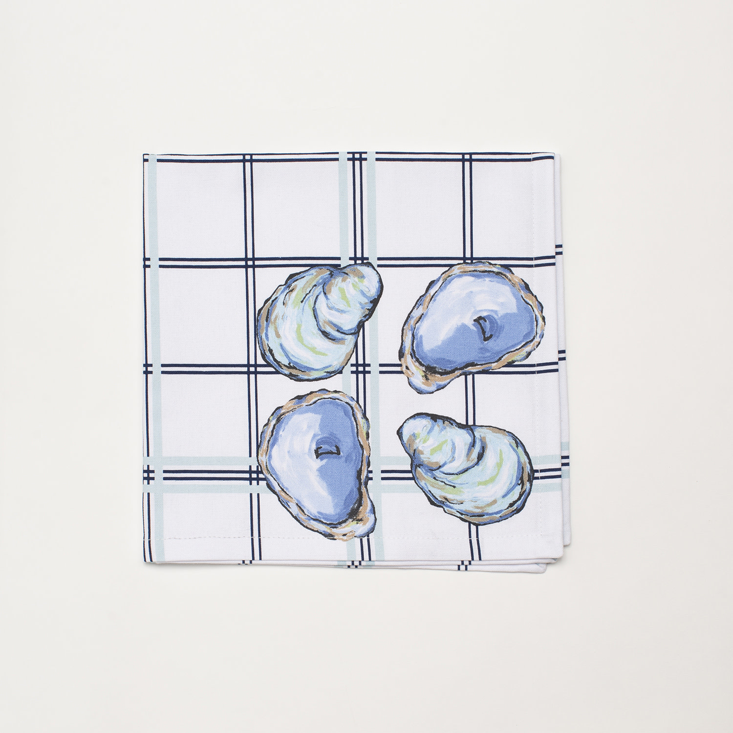 4 Piece Napkin Set - Oyster