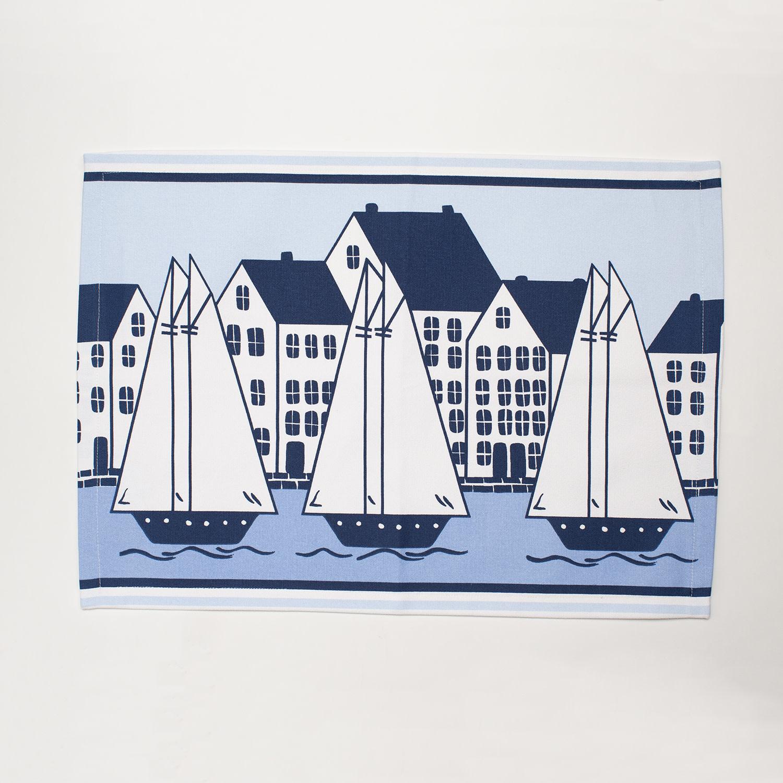 4 Piece Placemat Set - Coastal Village