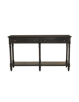 Edwardian 2 Drawer Console Table