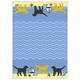 "28"" x 20"" Kitchen Towel - Beach Dogs"
