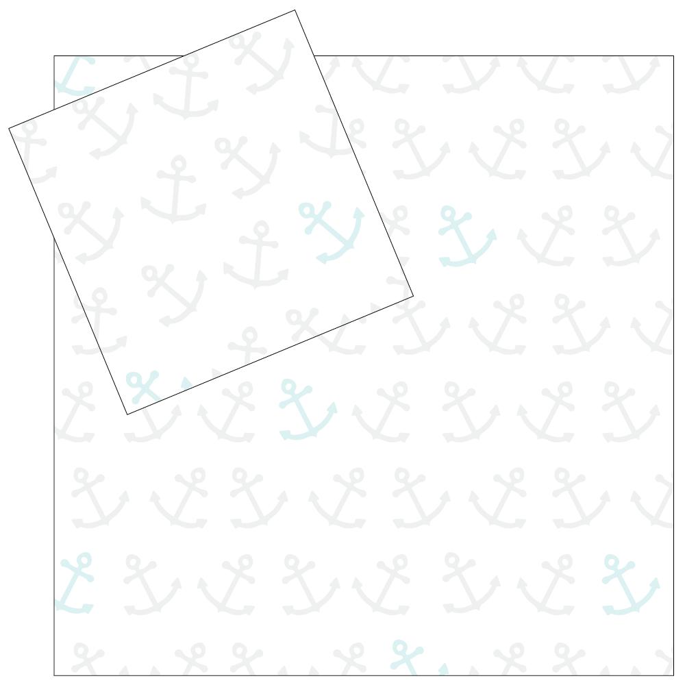 4 Piece Napkin Set - Anchors