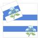 4 Piece Napkin Set - Hydrangea