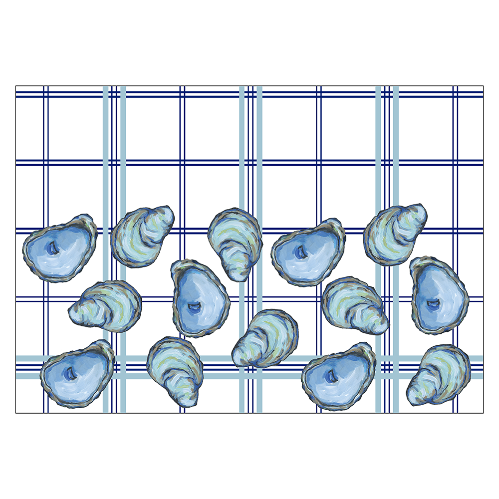 4 Piece Placemat Set - Oyster