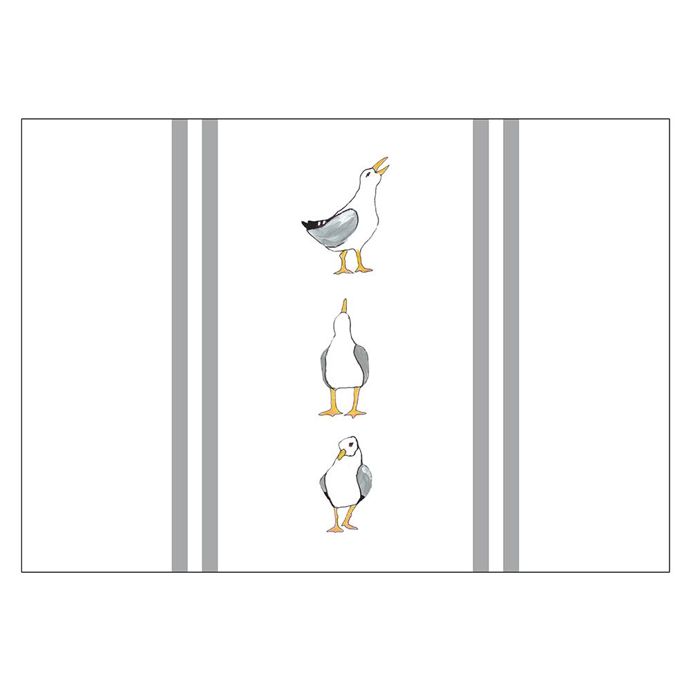 4 Piece Placemat Set - Seagulls