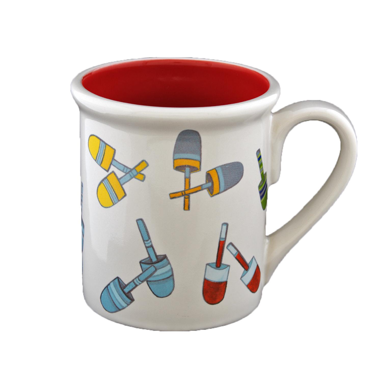 """4.25"""" Mug - Buoys"""
