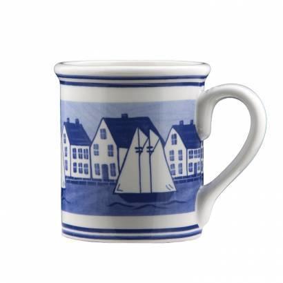 """4.25"""" Mug - Coastal Village"""