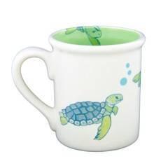 """4.25"""" Mug - Turtle"""