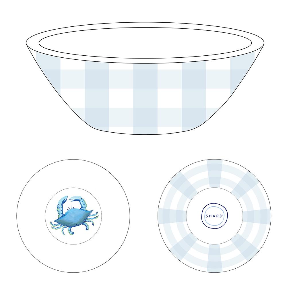 Tasting Bowl - Blue Crab