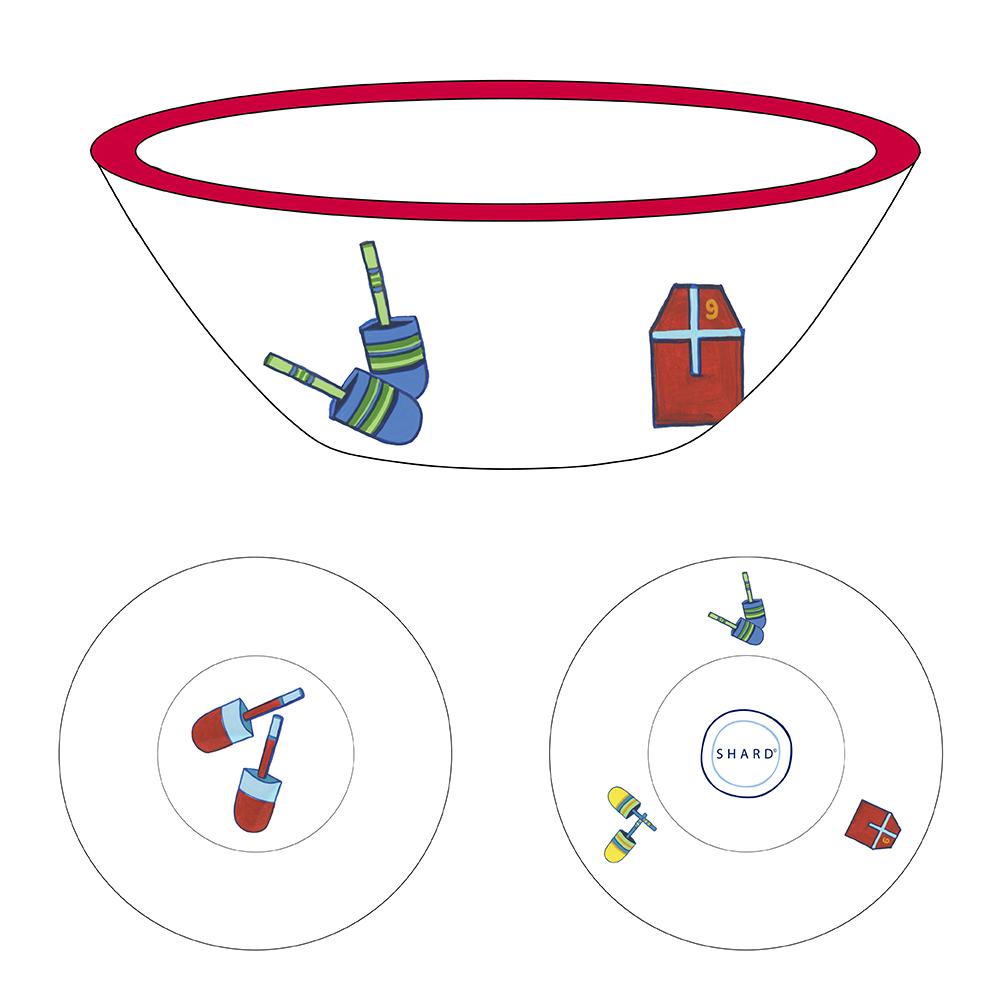 Tasting Bowl - Buoys