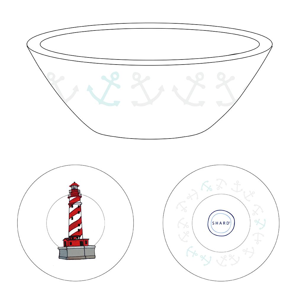 Tasting Bowl - Lighthouse Michigan