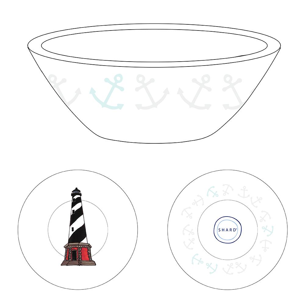 Tasting Bowl - Lighthouse Outer Banks