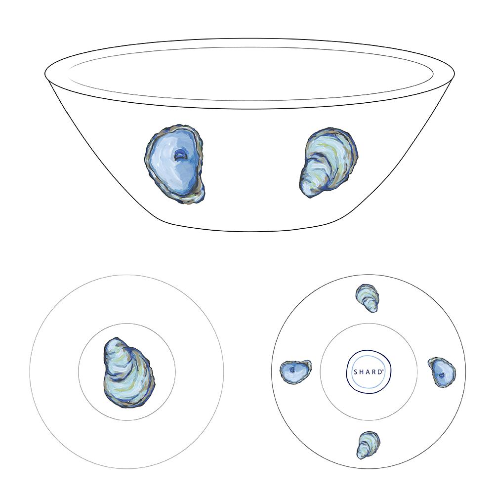 Tasting Bowl - Oyster
