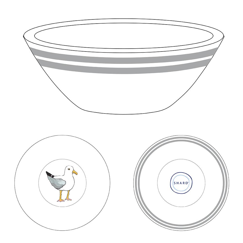 Tasting Bowl - Seagulls