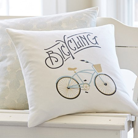Bicycle Canvas Pillow 20x20