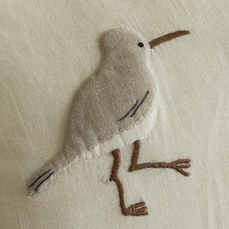 SShore Birds Linen Pillow 16x24
