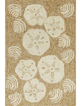 Shell Toss Natural Rug 24x36