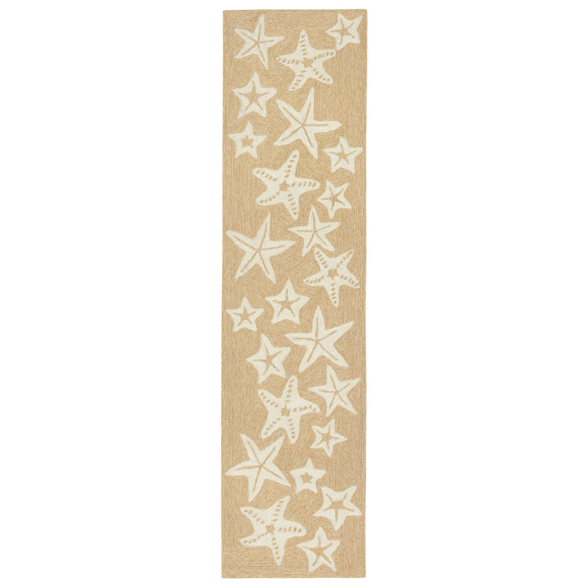 Starfish Neutral Rug 24x60