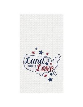 Kitchen Towel Land That I Love