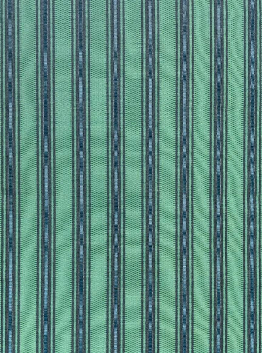Vertical Stripes Black Aqua