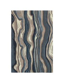 Ipanema Blue/Grey Rug 24x36