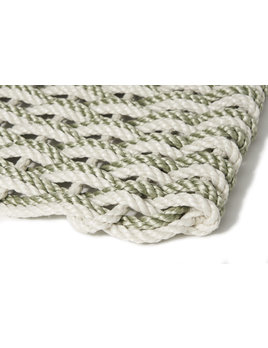 Large Oyster/Sage Doormat 21x34