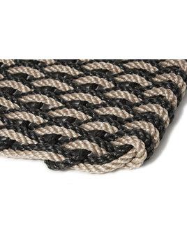 Large Sand/Charcoal Doormat 21x34