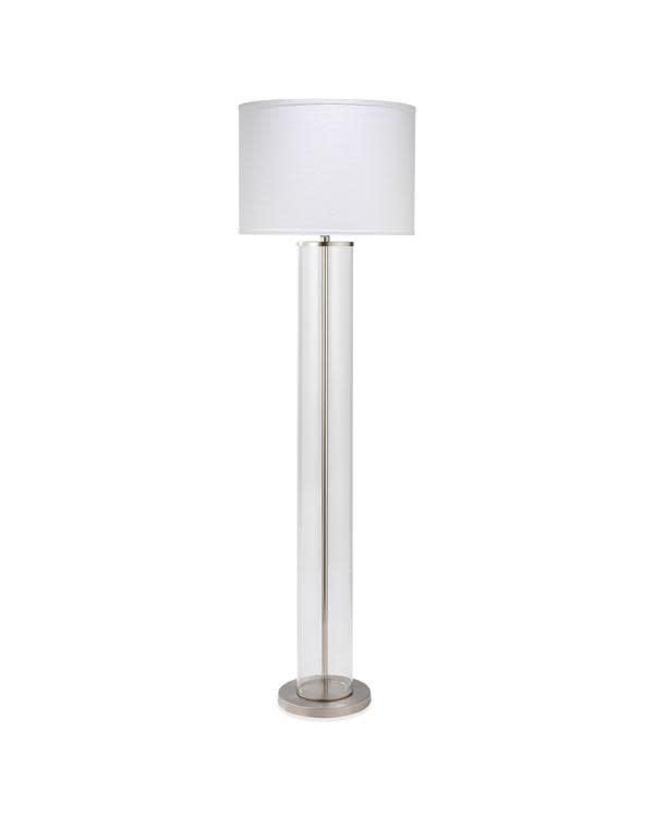 Vanderbilt Floor Lamp - Nickel