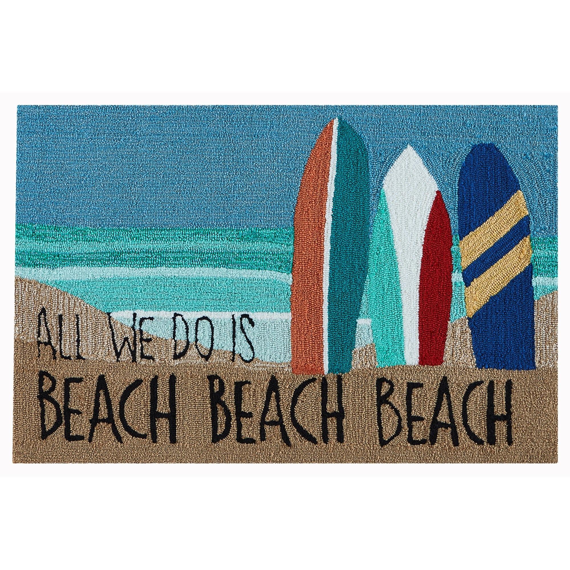 Beach Beach Ocean 24x36
