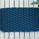 Small Navy Doormat 18x30