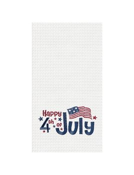 Kitchen Towel  Happy 4th of July