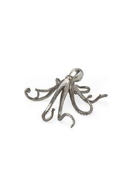 Strafford Small Silver Resin Octopus
