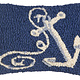 Anchor 8x12 Hooked Pillow