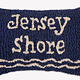 Jersey Shore 8x12 Hooked Pillow