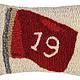 Nineteenth Hole 8x12 Hooked Pillow