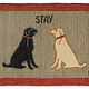 Stay 2x3 Hooked Rug