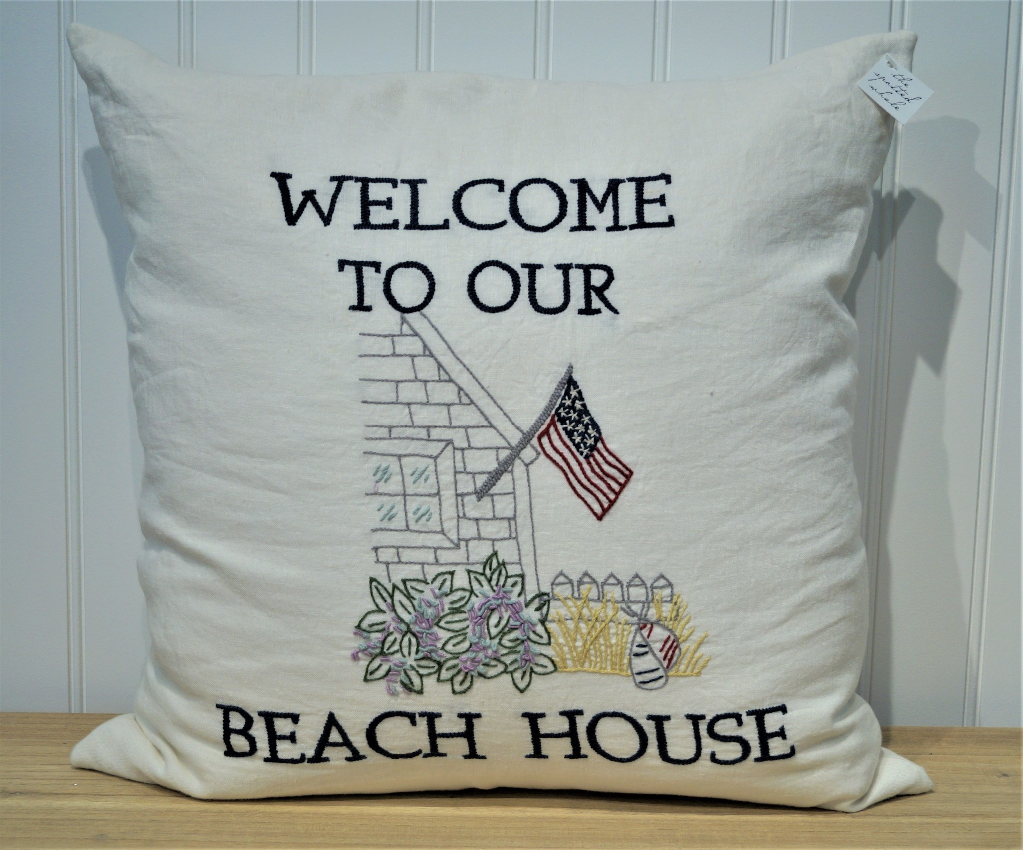Welcome To Our Beach House Pillow 21x21