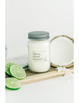 Citrus Kissed Coconut 16oz Candle