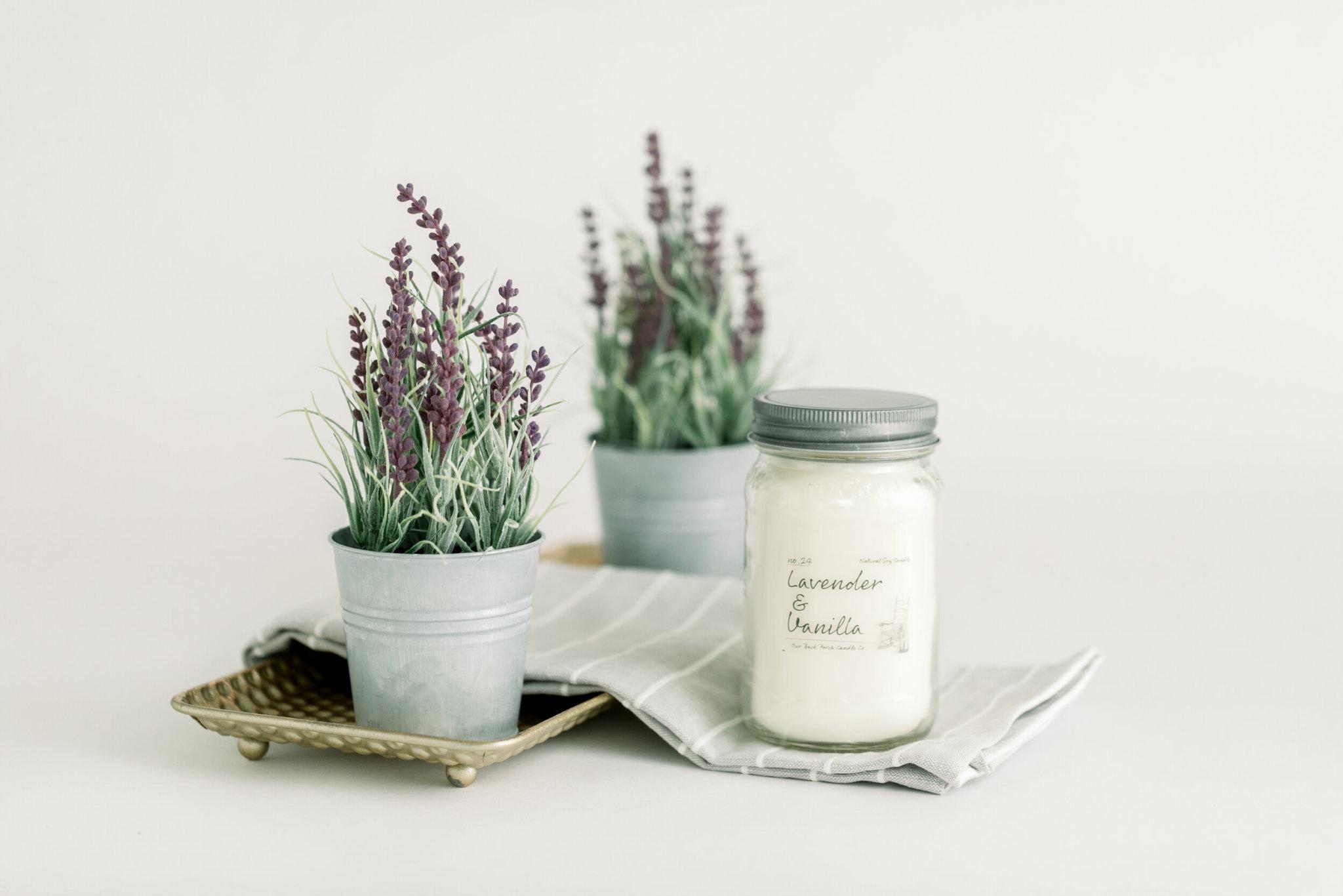 Lavender Vanilla 16oz Candle