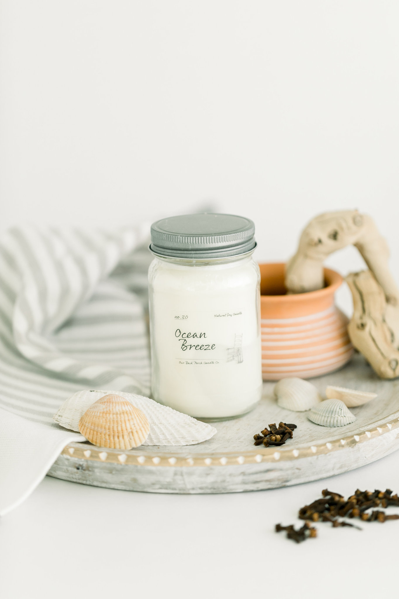Ocean Breeze 16oz Candle