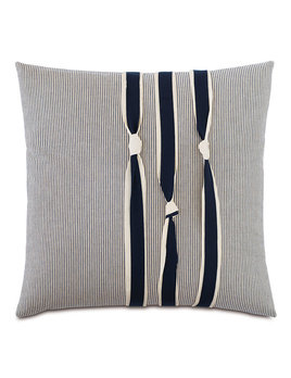 Navy Knots 20x20 Pillow